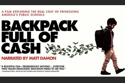 film poster for Backpack Full of Cash