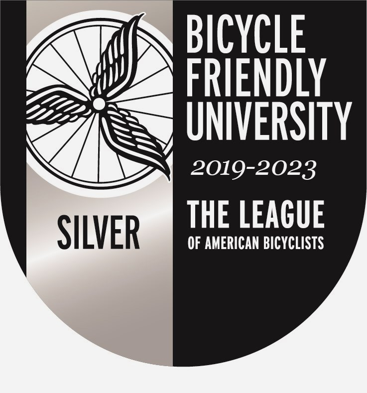 Bicycle Friendly University Seal Silver