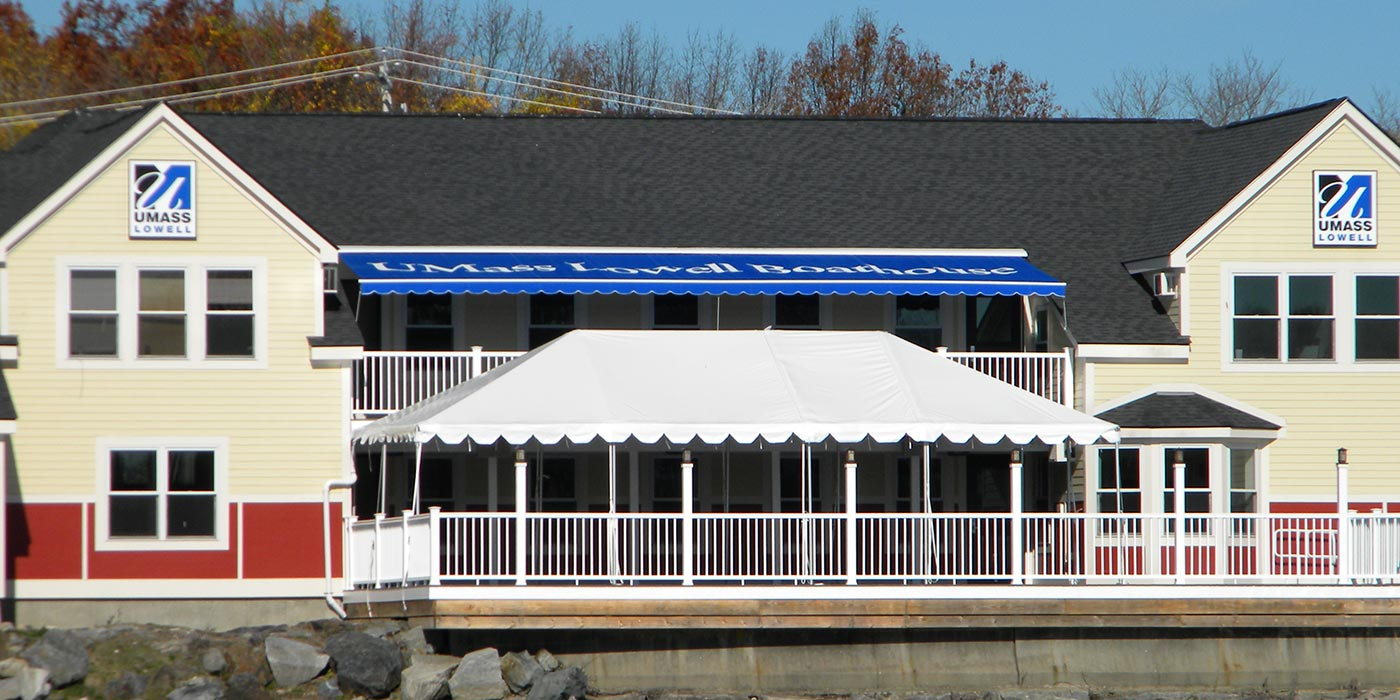 Bellegarde Boathouse at UMass Lowell