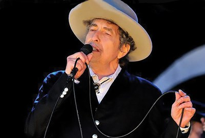 Bob Dylan performing at UMass Lowell