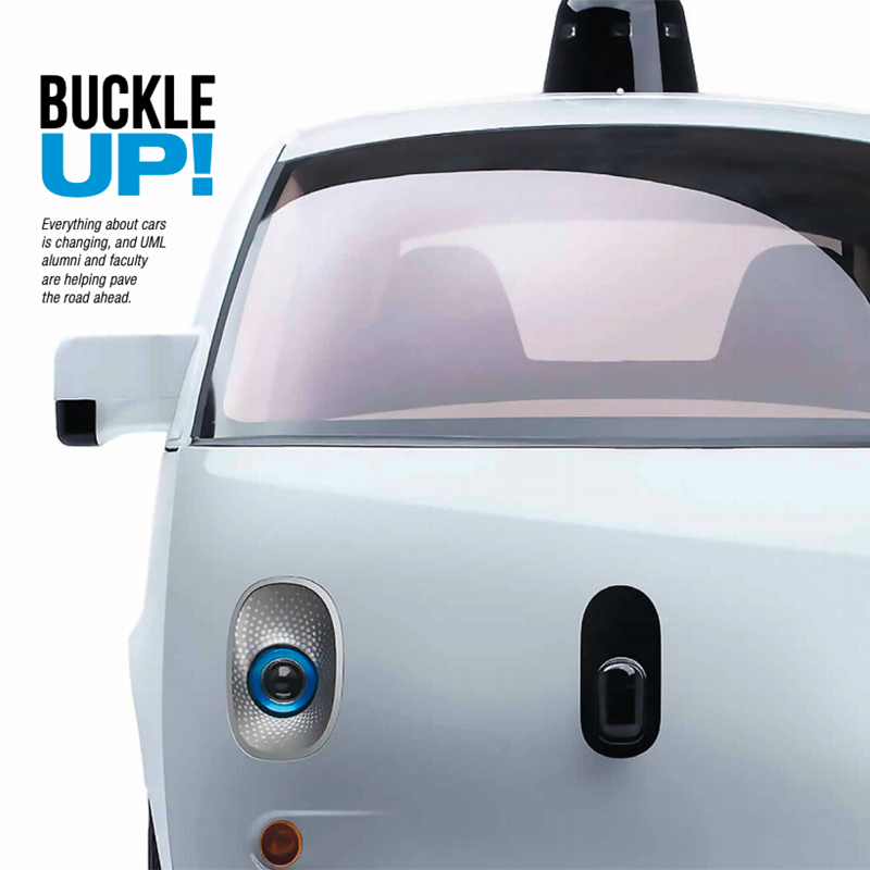 "Cover of UML magazine ""Buckle Up"" issue"
