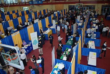"Employers sought ""the cream of the crop"" recruits at this year's Engineering and Technology Career Fair."