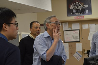 Former U.S. Energy Secretary and Nobel Laureate Steven Chu Visits SDASL