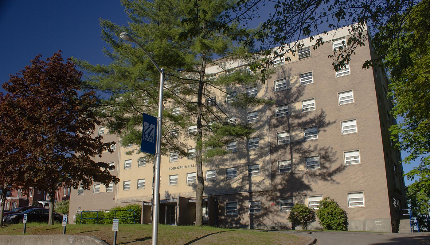Concordia Hall on South Campus at UMass Lowell