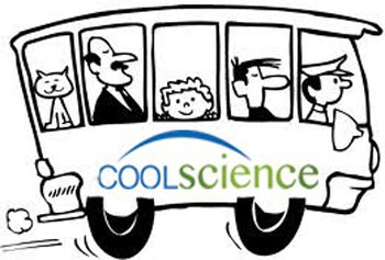 The Cool Science initiative includes a poster contest on climate change for students in kindergarten through college. The winning submissions will be featured on bus advertisements.