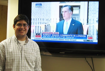 Junior Corey Lanier will be attending the Republican National Convention in Tampa and doing fieldwork with CNN.