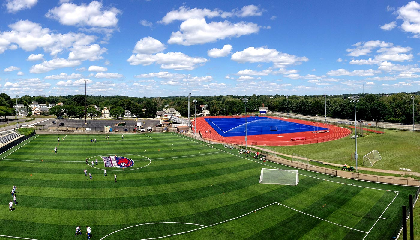 Cushing Field Complex at UMass Lowell