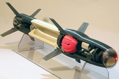3D Printed Missile Photo Credit: Raytheon