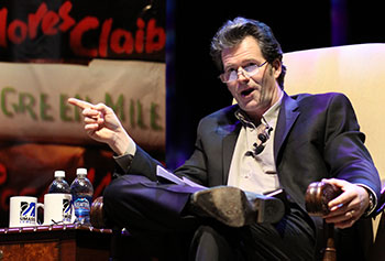 Assoc. Prof. Andre Dubus III is looking forward to his sit-down with Meryl Streep.