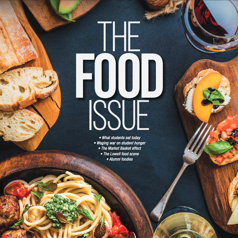 "Cover of UML magazine ""The Food Issue"""