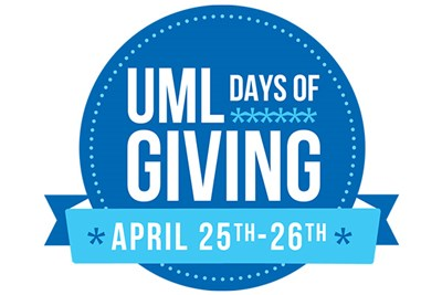 UML Days of Giving logo