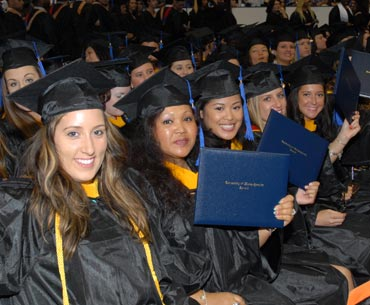 UMass Lowell Graduates Celebrate at 2012 Commencement Ceremony