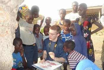 Jason Hebert in Ghana