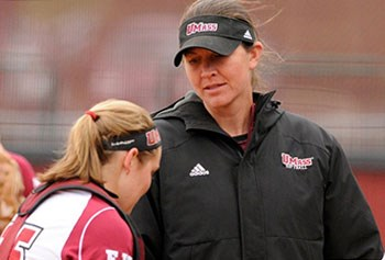 Former U.S. Olympian Danielle Henderson, new UMass Lowell softball coach