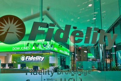 Fidelity Investments on Congress Street in Boston