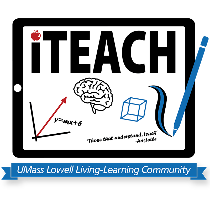 iTeach LLC Graphic. The iTeach Living-Learning Community is designed for every student who may be interested in a career in teaching. Open to ALL undergraduate students and ALL majors, this community is focused on introducing students to teaching as a career path.