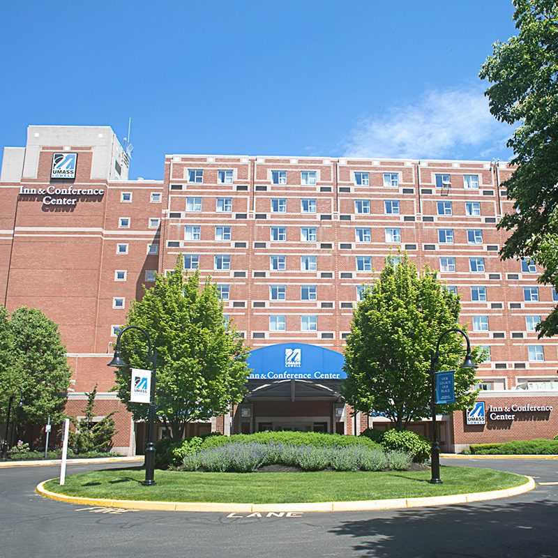 The Inn & Conference Center also serves as a student residence hall at UMass Lowell