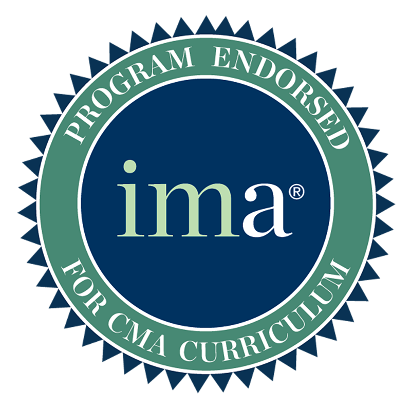IMA Endorsement Seal. IMA's® (Institute of Management Accountants) Higher Education Endorsement initiative recognizes programs that meet high educational standards, preparing students to enter into the profession of management accounting.