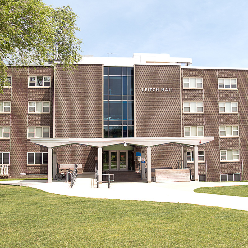 Leitch Hall is a student residence hall on the UMass Lowell campus