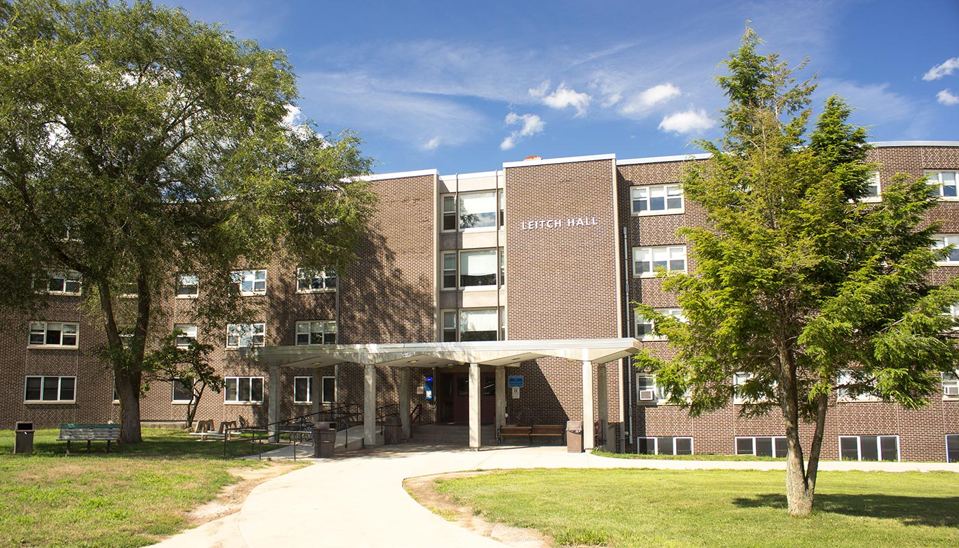 Leitch Hall on UMass Lowell's East Campus