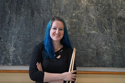 Senior Maddie May Scott is a powerful drummer with Flight of Fire, and her skills will take her on a star-studded cruise headlined by Melissa Etheridge