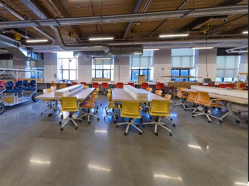 Take a virtual tour of the MakerSpace