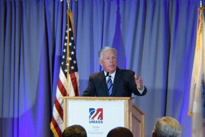 UMass President Marty Meehan delivers his State of the University