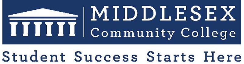Middlesex Community College logo. Middlesex Community College is a public community college with two campuses in Massachusetts, one in Lowell and the other in Bedford, Massachusetts.