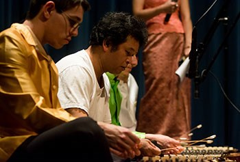 Cambodian musicians perform at UMass Lowell