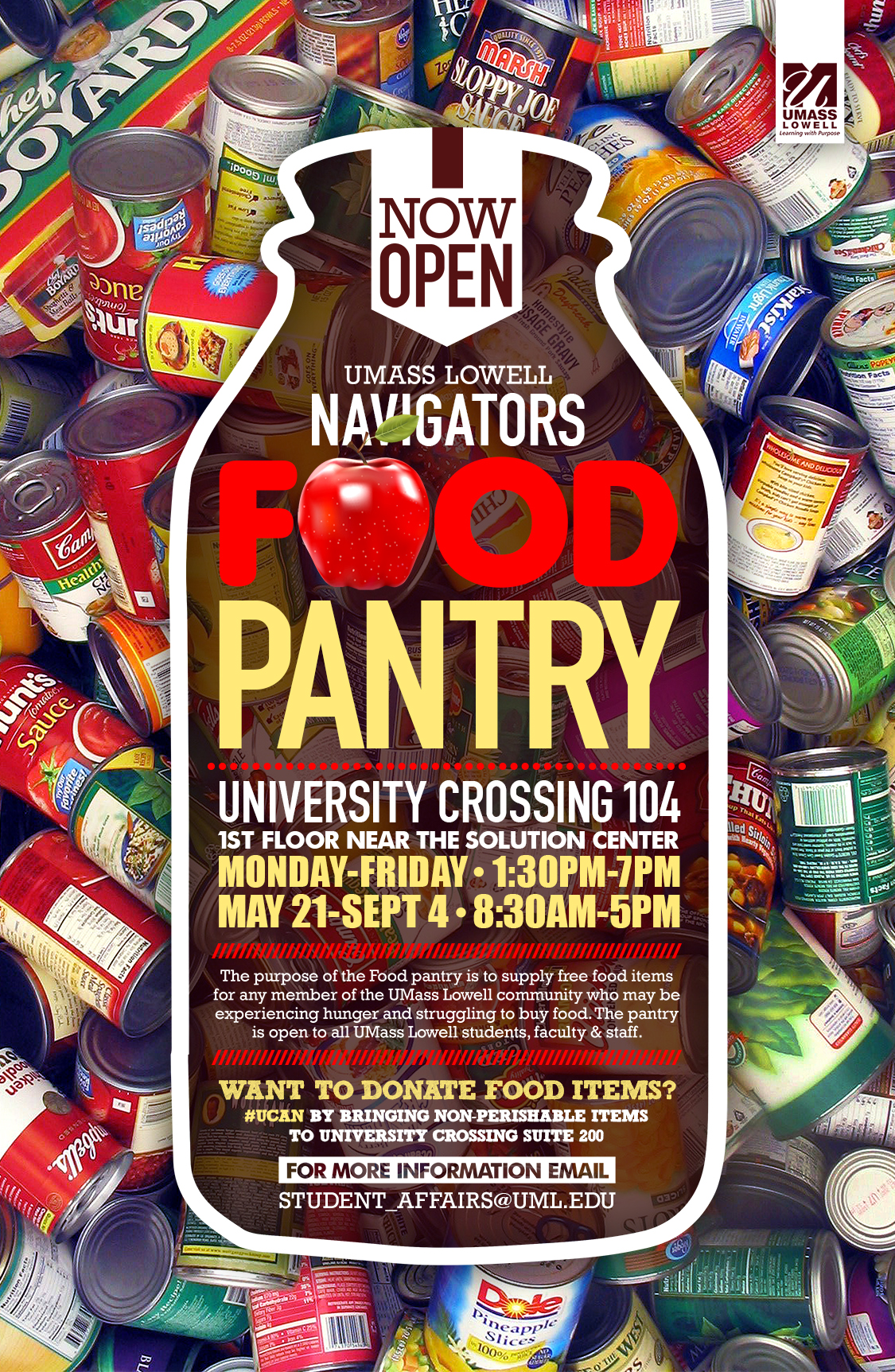 navigators food pantry spring 2018
