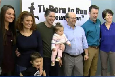 Family of boy who got prosthetic leg from Noelle Lambert's Born to Run