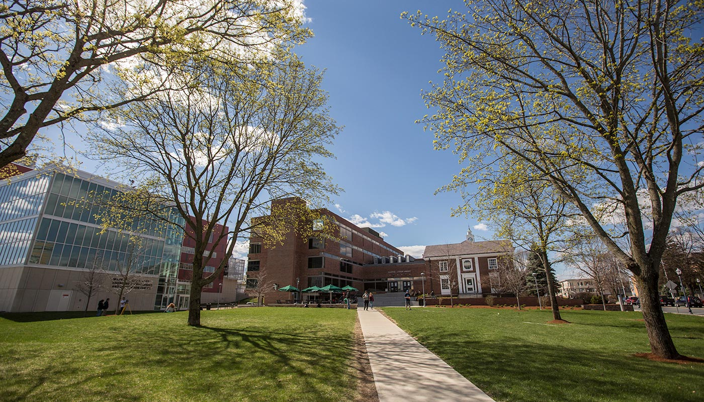 North Campus - Saab, O'Leary Library, Alumni Hall