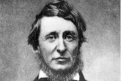 Archival photo of philosopher Henry David Thoreau