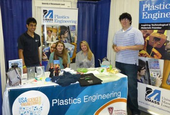 Plastics Engineering booth at festival
