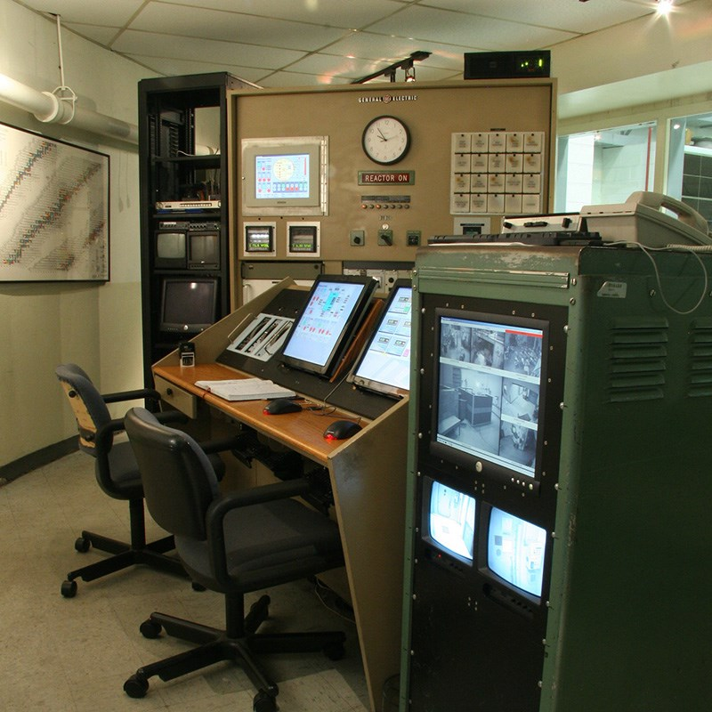 Equipment in the Radiation Laboratory
