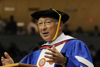 Sec. Salazar Headlines UMass Lowell Commencement