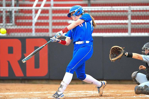 Danvers' Courtney Cashman led the NCAA in batting average this season, hitting .508 for the UMass Lowell softball team.