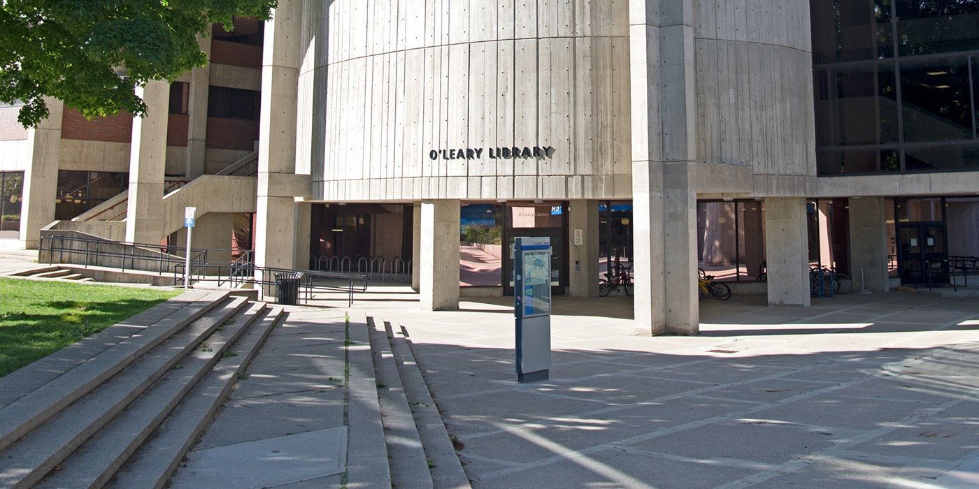 O'Leary Library facade