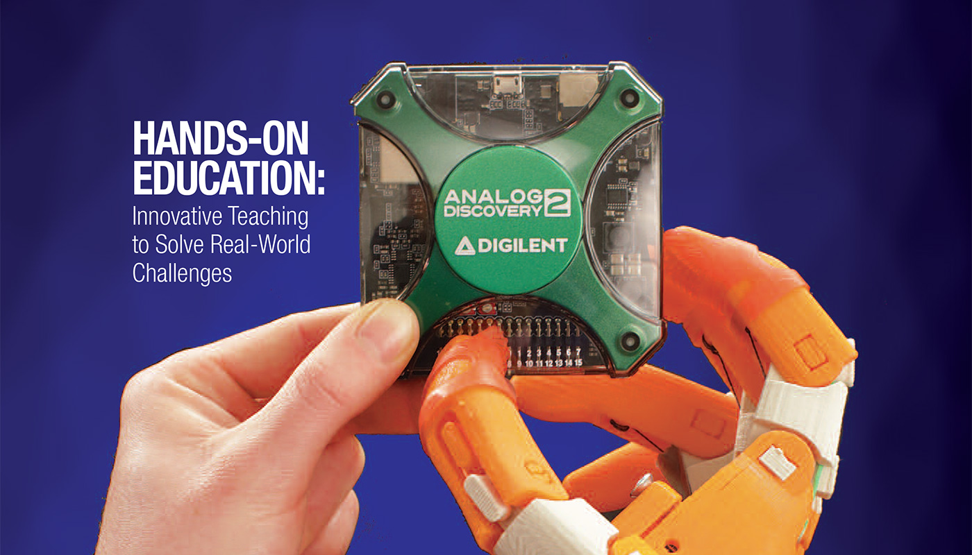 Engineering Solutions cover with hand and robot hand