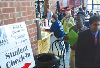 Students Upbeat Despite Job Forecast