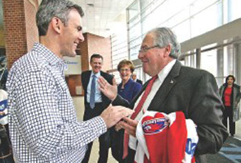 UMass Lowell's Growth, Innovation Wows DeLeo