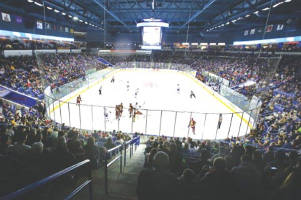 The Tsongas Center will be rocking again before long with UMass Lowell hockey action.