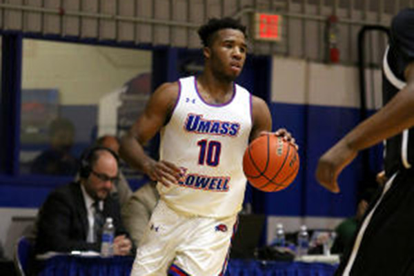 Senior forward Jahad Thomas not only posted huge numbers during his career at UMass Lowell, he was also one of the most unique talents in college basketball.