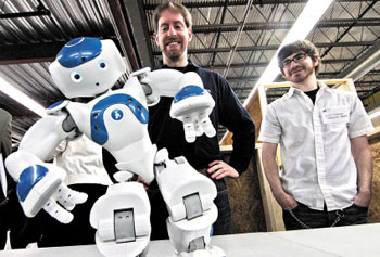 UMass Lowell's NERVE Center a New Proving Ground for Tomorrow's Robots