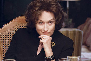 Streep as Violet Weston in August: Osage County