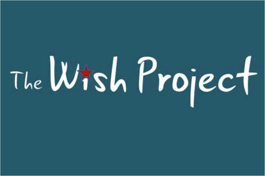 The Wish Project logo. The Wish Project collects items needed by people living in the Merrimack Valley. For example, furniture, backpacks, Christmas gifts, etc.