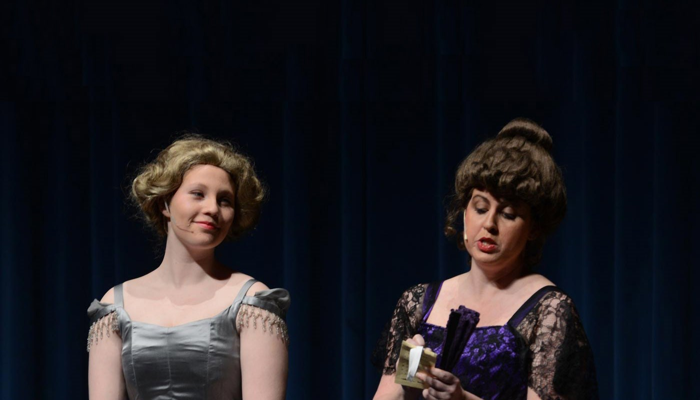 Students perform in Lady Windermere's Fan