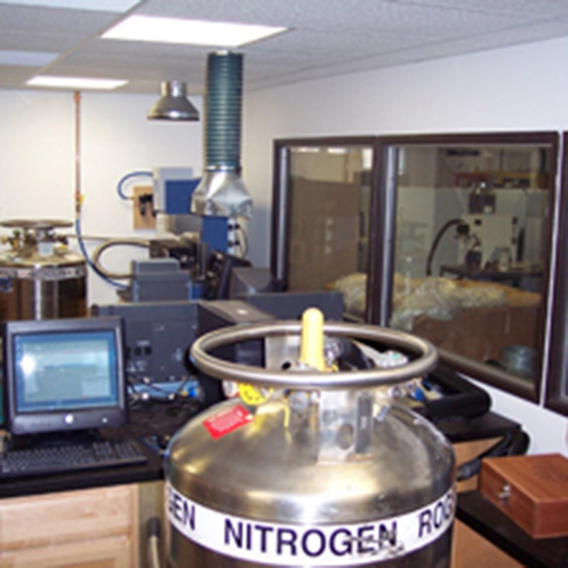 Equipment inside laboratory