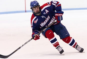 Riley Wetmore led Massachusetts-Lowell with 39 points last season. Photo: Shelley M. Szwast.