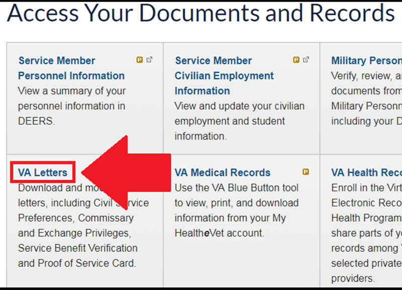 Veteran Documentation for Disability Services | Information